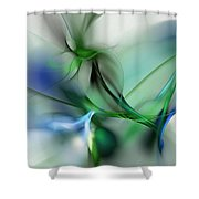 Cobra Plant Shower Curtain