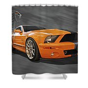 Cobra Power - Shelby Gt500 Mustang Shower Curtain