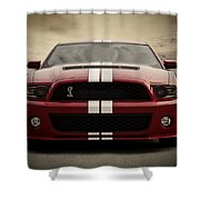 Cobra Red Shower Curtain