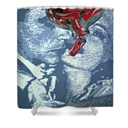 Coca Cola Cans Shower Curtain