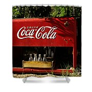 Coca-cola Shower Curtain