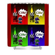 Coca-cola Forever Young 12 Shower Curtain
