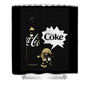 Coca-cola Forever Young 7 Shower Curtain