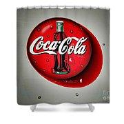 Coca Cola Iconic Button Logo Grey Shadowing Acrylic Print By Scott D Van Osdol
