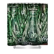 Coca Cola So Many Bottles Shower Curtain