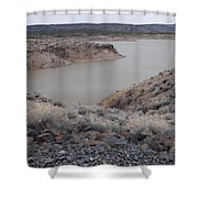 Cochiti Lake Shower Curtain