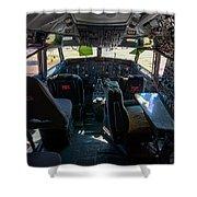 Cockpit Shower Curtain