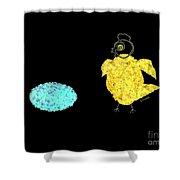 Coco Et Cocotte Shower Curtain