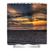 Cocoa Beach-2 Shower Curtain