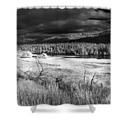 Cocolala Creek Shower Curtain