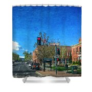 Coconino County Courthouse Shower Curtain