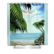 Coconut Cove Shower Curtain