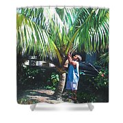 Coconut Shade Shower Curtain