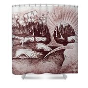 Coconut's Forest Shower Curtain