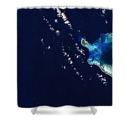Cocos Islands Shower Curtain by Adam Romanowicz