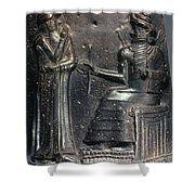 Code Of Hammurabi. Shower Curtain