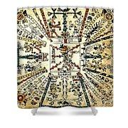Codex Fej�rv�ry-mayer, 15th Century Shower Curtain