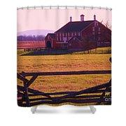 Codori Barn Gettysburg Shower Curtain