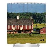 Codori Barn Shower Curtain