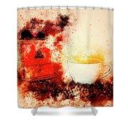 Coffe Grinder Shower Curtain