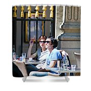 Coffee And Cigarettes Shower Curtain