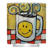 Coffee Cup One Shower Curtain