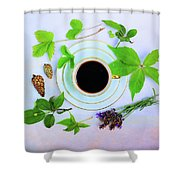 Coffee Delight Shower Curtain