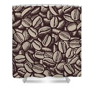 Coffee In Grain Shower Curtain