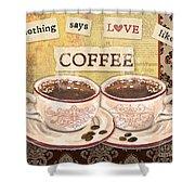 Coffee Love-jp3592 Shower Curtain