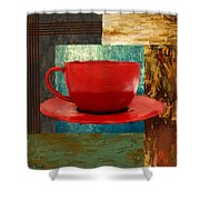 Coffee Lover Shower Curtain