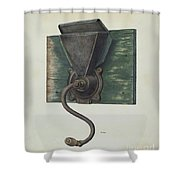 Coffee Mill Shower Curtain