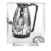 Coffee Pot Shower Curtain