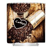 Coffee Shop Love Shower Curtain