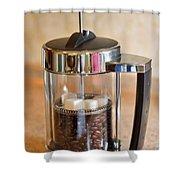 Coffee With Sugar Shower Curtain