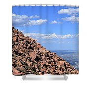 Cog View Shower Curtain