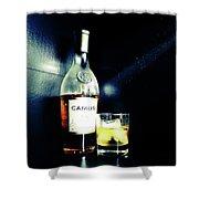 Cognac Camus Shower Curtain