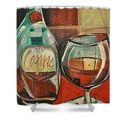 Cognac Shower Curtain
