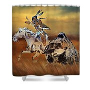 Cohick's Mural Shower Curtain