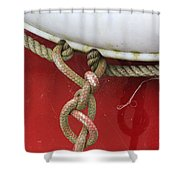 Cohitched Shower Curtain