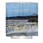 Cohoes Falls New York Shower Curtain