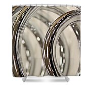 Coils Shower Curtain