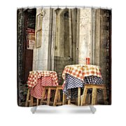 Coimbra Cafe Shower Curtain