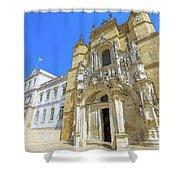 Coimbra Historic City Shower Curtain