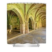 Coimbra Old Cathedral Shower Curtain