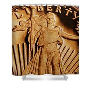 Coin Collector Viii Shower Curtain