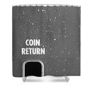 Coin Return Shower Curtain