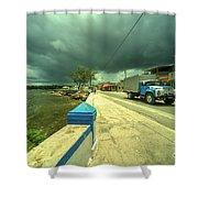 Cojimar Truck  Shower Curtain