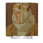 Lawrence Of Arabia - Col. Thomas Edward Lawrence Shower Curtain