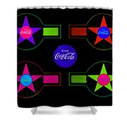 Cola-candy Shower Curtain
