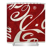 Cola - Coca Shower Curtain
